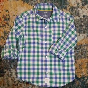 Carter's button up shirt